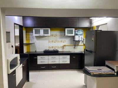 Gallery Cover Image of 1800 Sq.ft 3 BHK Apartment for rent in Shukan Orchid, Chandkheda for 22500