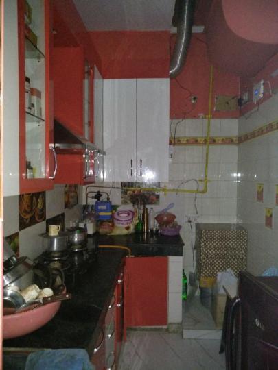 सईद-उल-अजाइब में यादव पीजी के किचन की तस्वीर