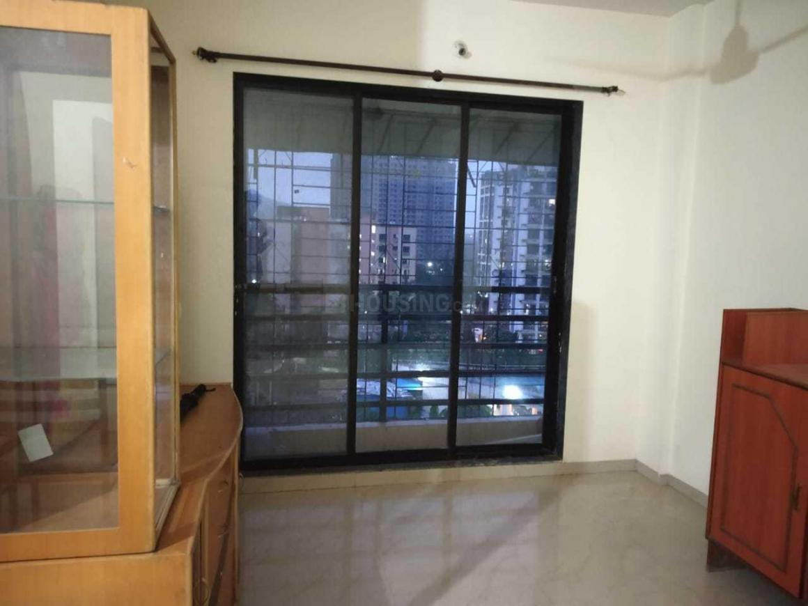 Living Room Image of 786 Sq.ft 1 BHK Apartment for rent in Kasarvadavali, Thane West for 17100