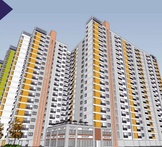 Building Image of 633 Sq.ft 2 BHK Apartment for buy in Padur for 2700000