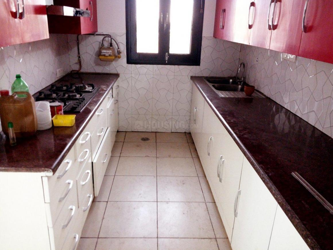 Kitchen Image of 4400 Sq.ft 4 BHK Apartment for rent in Sector 19 Dwarka for 55000