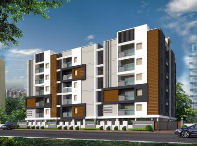 Gallery Cover Image of 1500 Sq.ft 3 BHK Apartment for buy in LB Nagar for 8600000