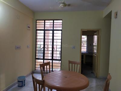 Gallery Cover Image of 728 Sq.ft 2 BHK Apartment for rent in West Moon Beam Housing, New Town for 12000