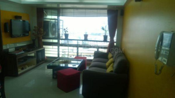 Living Room Image of 800 Sq.ft 2 BHK Apartment for rent in Kandivali East for 32000