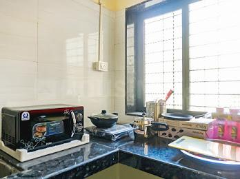 Kitchen Image of Smarth Appartment in Kharadi
