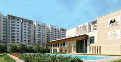 Gallery Cover Image of 664 Sq.ft 1 BHK Apartment for buy in Prestige Willow Tree, Vidyaranyapura for 5000000