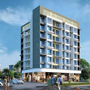 Gallery Cover Image of 685 Sq.ft 1 BHK Apartment for buy in Neelkanth Patel Galaxy, Ulwe for 4500000