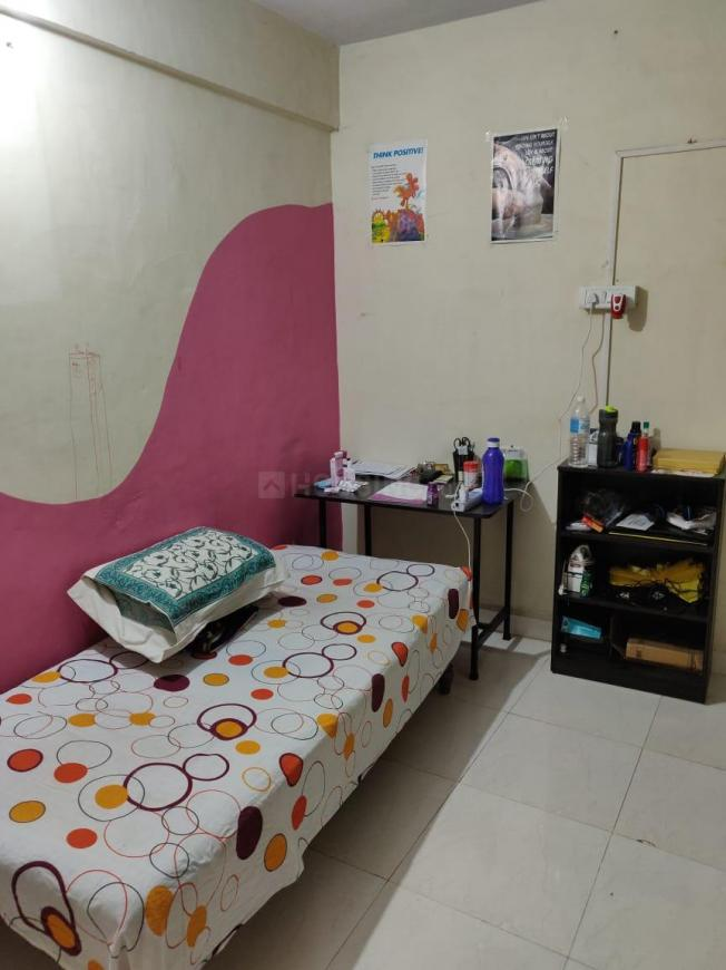 Bedroom Two Image of 900 Sq.ft 2 BHK Apartment for rent in Dhanori for 18000