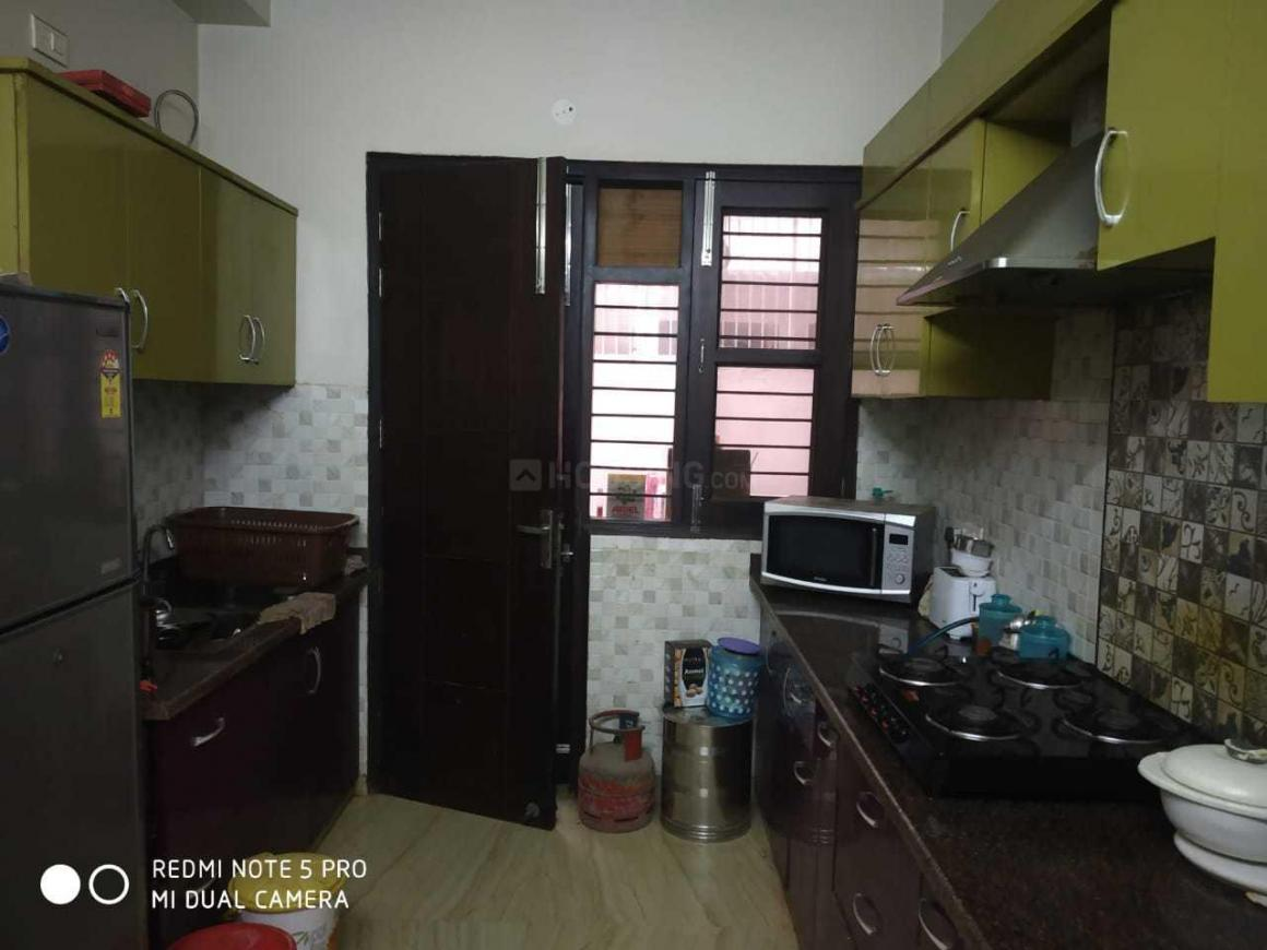 Kitchen Image of 263 Sq.ft 2 BHK Independent Floor for rent in Sector 46 for 36000