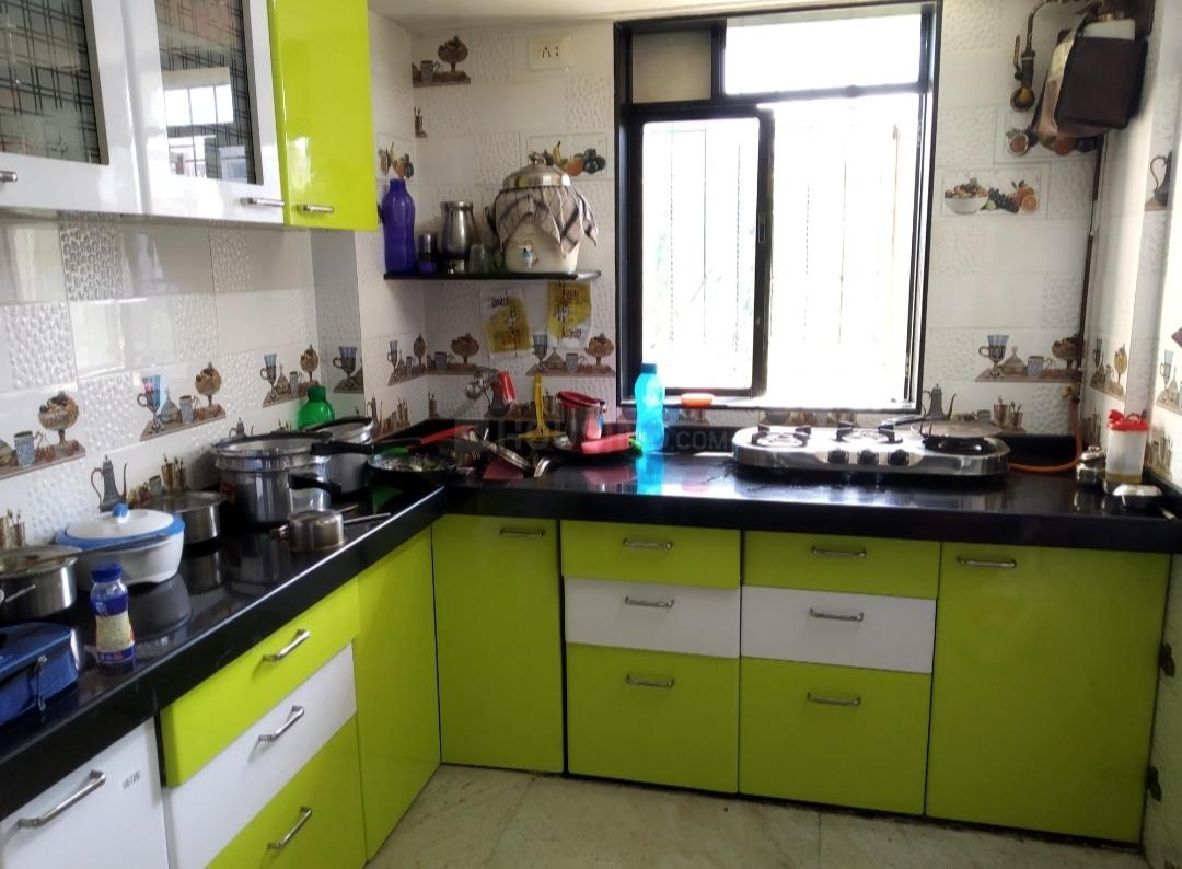 Kitchen Image of 1000 Sq.ft 2 BHK Apartment for rent in Bhayandar West for 22000