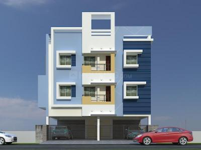 Gallery Cover Image of 821 Sq.ft 2 BHK Apartment for buy in Selaiyur for 4800000