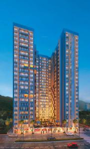 Gallery Cover Image of 613 Sq.ft 1 BHK Apartment for buy in JV Ariana Residency, Borivali East for 7600000