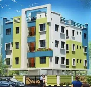 Gallery Cover Image of 1091 Sq.ft 3 BHK Apartment for buy in Nayabad for 3600000