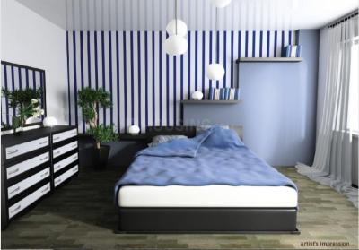 Bedroom Image of 1420 Sq.ft 3 BHK Apartment for buy in Poojaa Diamond Anandam, Kattupakkam for 7455000