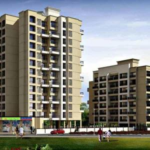 Gallery Cover Image of 1100 Sq.ft 2 BHK Apartment for buy in Shree Niraj Riveria, Kalyan West for 6850000