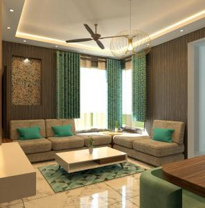 Gallery Cover Image of 901 Sq.ft 2 BHK Apartment for buy in ETH Emerald Rivera, Gajiwali Shyampur for 3961000