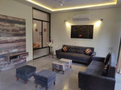 Gallery Cover Image of 3600 Sq.ft 4 BHK Villa for rent in Applewoods Estate Santolina, Shela for 60000