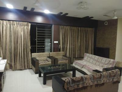 Gallery Cover Image of 1620 Sq.ft 3 BHK Apartment for rent in Concrete Sai Saakshaat, Kharghar for 45000