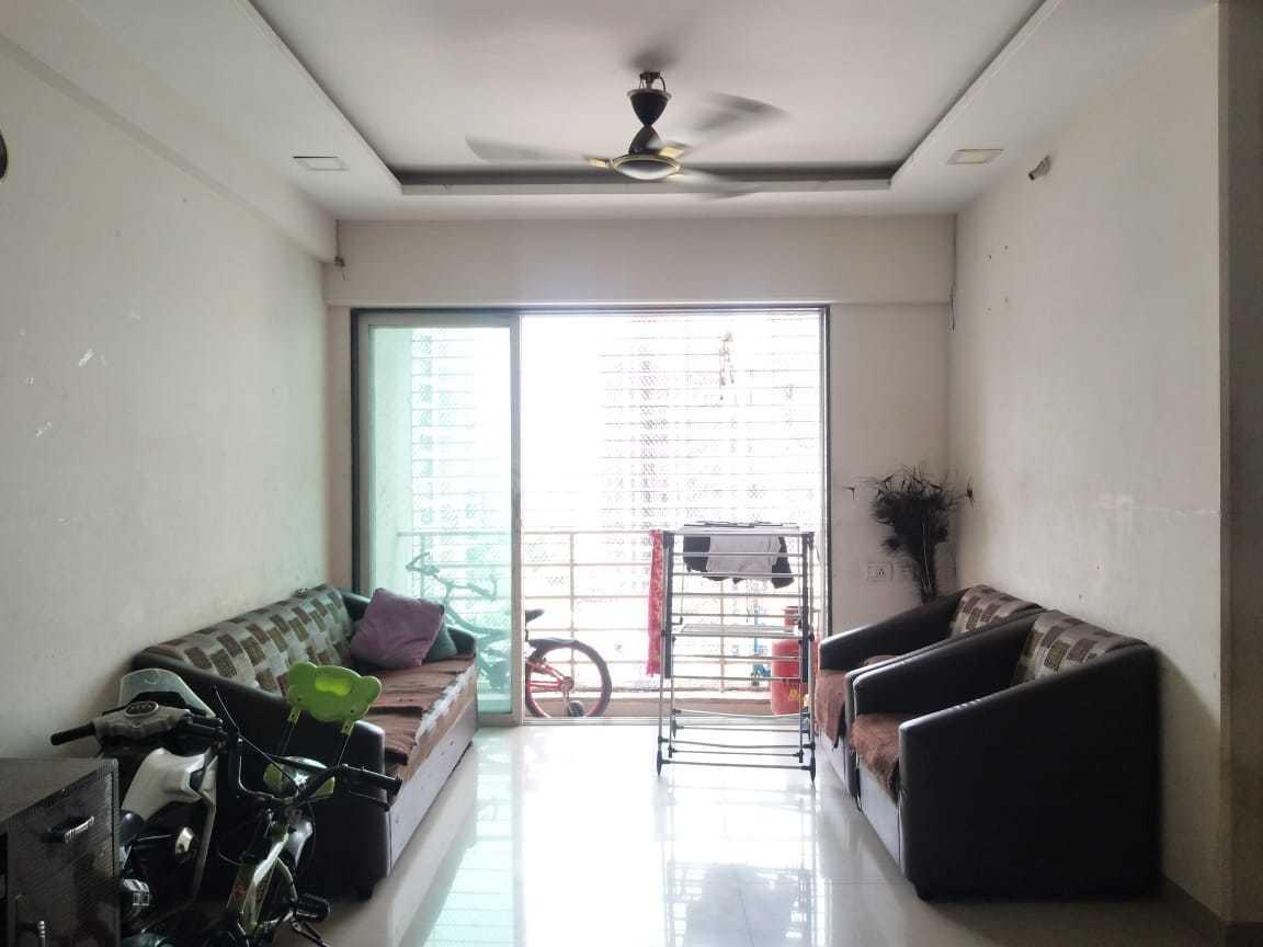 Living Room Image of 850 Sq.ft 2 BHK Apartment for rent in Kalwa for 23000