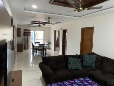 Gallery Cover Image of 2100 Sq.ft 3 BHK Apartment for rent in Manikonda for 30000