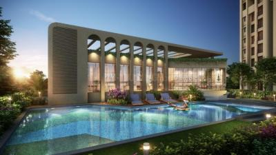 Gallery Cover Image of 418 Sq.ft 1 BHK Apartment for buy in Raunak 108, Kasarvadavali, Thane West for 4900000