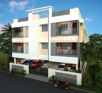 Gallery Cover Image of 604 Sq.ft 1 BHK Apartment for buy in Medavakkam for 2899200