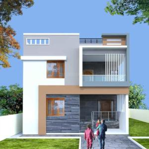 Gallery Cover Image of 1250 Sq.ft 3 BHK Independent House for buy in Vasundhara for 13000000