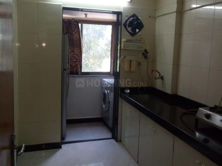 Kitchen Image of 625 Sq.ft 1 BHK Apartment for rent in Kurla West for 32000