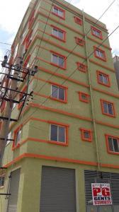 इलेक्ट्रॉनिक सिटी में एसएलवी पीजी के बिल्डिंग की तस्वीर