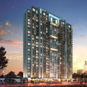 Gallery Cover Image of 411 Sq.ft 1 BHK Apartment for buy in Thane West for 5151000