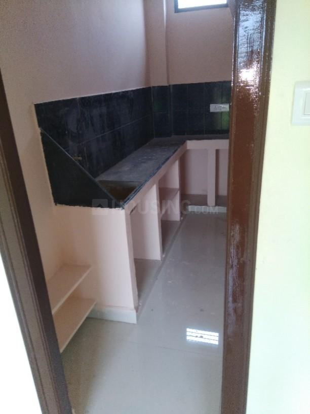 Kitchen Image of 150 Sq.ft 1 BHK Independent House for rent in Gajularamaram for 5500