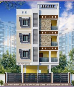 Gallery Cover Image of 750 Sq.ft 2 BHK Apartment for buy in Porur for 5625000