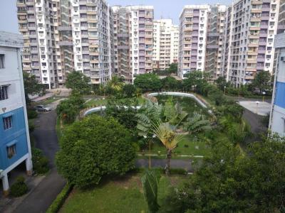 Gallery Cover Image of 1350 Sq.ft 3 BHK Apartment for rent in Calcutta Green, Santoshpur for 26000