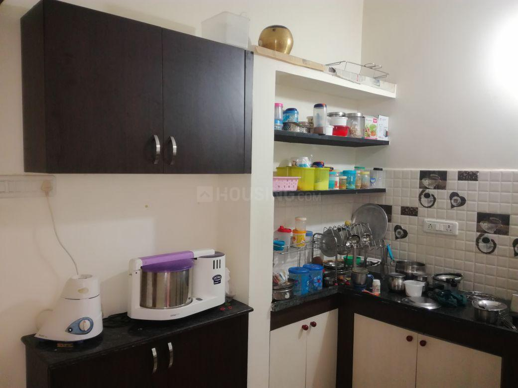 Kitchen Image of 1150 Sq.ft 2 BHK Apartment for rent in Selaiyur for 9500