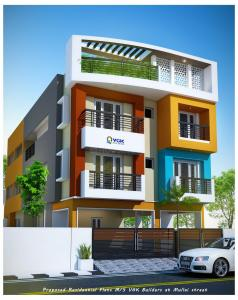 Gallery Cover Image of 1020 Sq.ft 3 BHK Apartment for buy in Sembakkam for 5100000