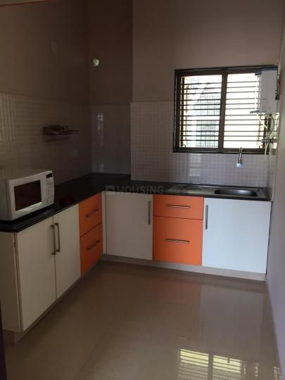 Kitchen Image of 600 Sq.ft 1 BHK Independent Floor for rent in Ganganagar for 18000