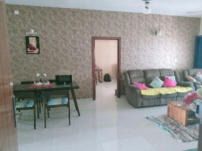 Gallery Cover Image of 1800 Sq.ft 3 BHK Apartment for rent in Unicca Emporis, Madhura Nagar for 32000