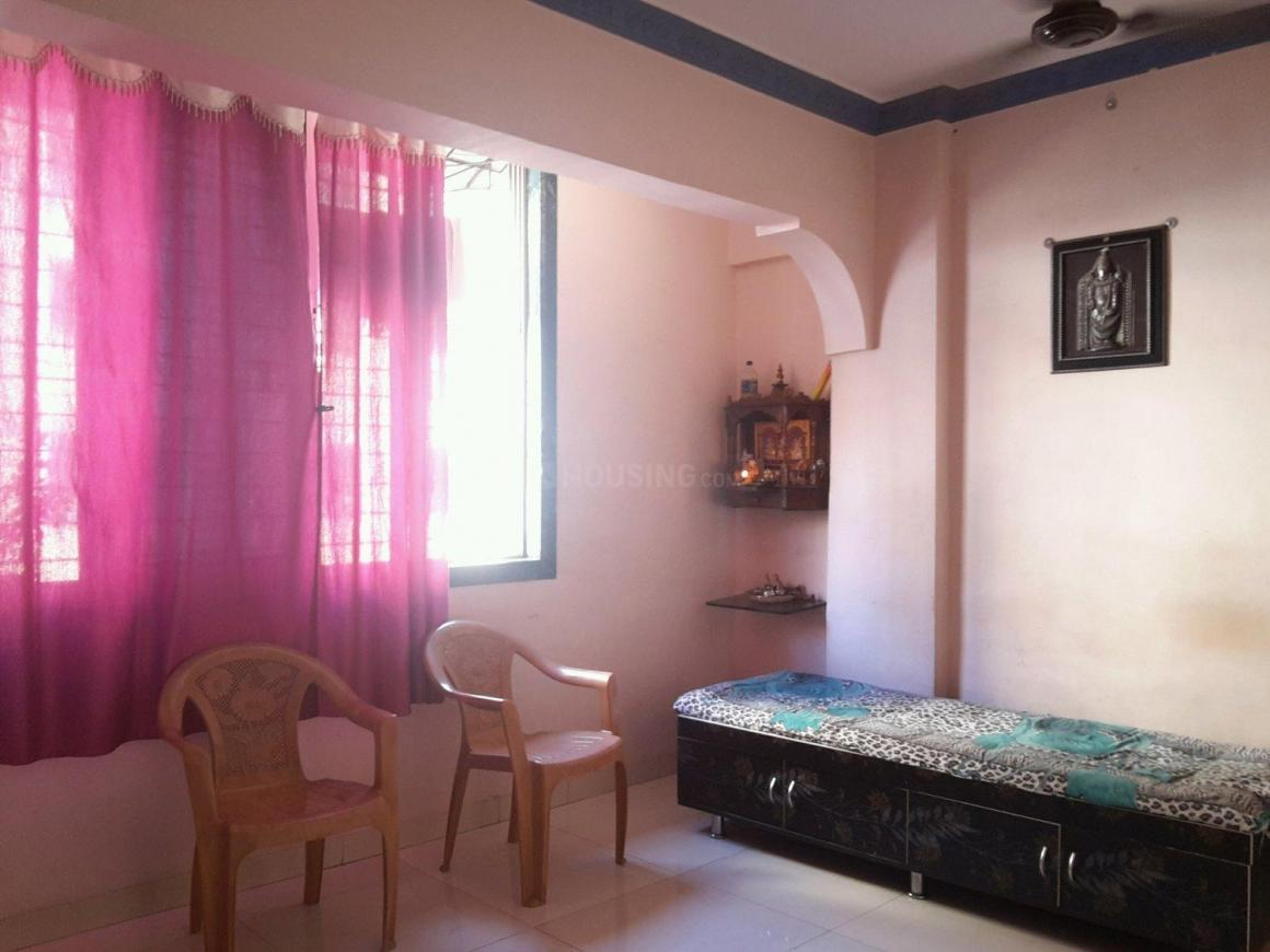 Living Room Image of 650 Sq.ft 1 BHK Apartment for buy in Airoli for 6000000