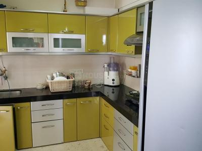Gallery Cover Image of 1200 Sq.ft 2 BHK Apartment for rent in Ghansoli for 32000