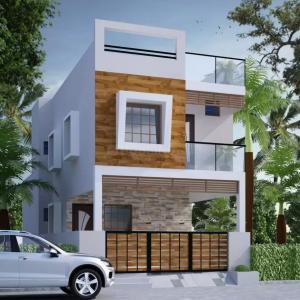 Gallery Cover Image of 2100 Sq.ft 3 BHK Independent House for buy in Kolapakkam for 13500000