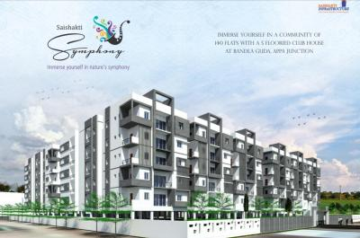 Gallery Cover Image of 1506 Sq.ft 3 BHK Apartment for buy in Bandlaguda Jagir for 6100000