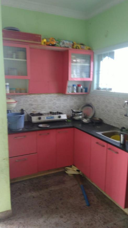 Kitchen Image of 600 Sq.ft 1 BHK Apartment for rent in Raysandara for 7000
