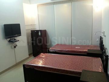 मुंधवा में ब्राइट यूथ स्टूडेंट अकॉमोडेशन के बेडरूम की तस्वीर