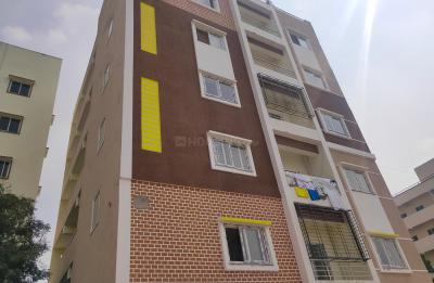 Gallery Cover Image of 1050 Sq.ft 2 BHK Apartment for rent in Hafeezpet for 17800