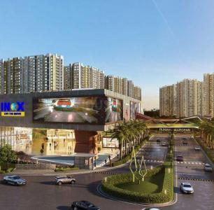 Gallery Cover Image of 690 Sq.ft 1 BHK Apartment for buy in Runwal Gardens Phase 3 Bldg No 29 30, Gharivali Village for 3900000