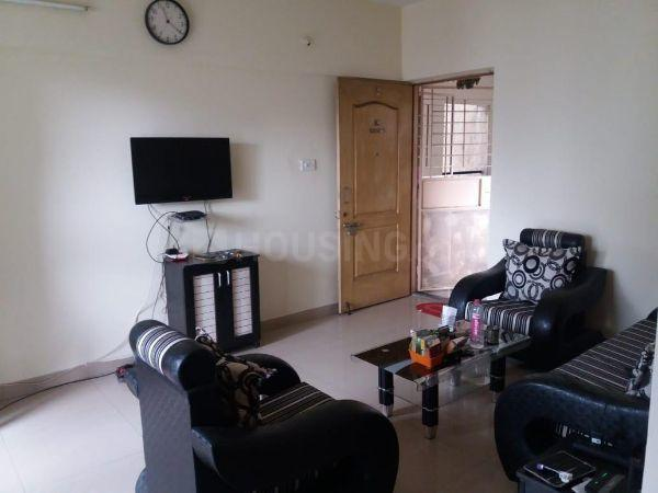 Living Room Image of 650 Sq.ft 1 BHK Apartment for buy in Kharadi for 4300000