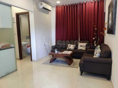 Gallery Cover Image of 800 Sq.ft 2 BHK Apartment for rent in Dynamix Parkwoods, Thane West for 27000