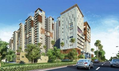 Gallery Cover Image of 1201 Sq.ft 2 BHK Apartment for buy in Shaikpet for 10100000