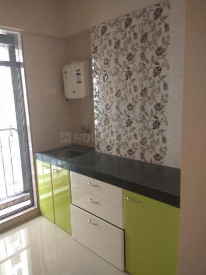 Kitchen Image of 560 Sq.ft 1 BHK Apartment for rent in Naigaon East for 6500