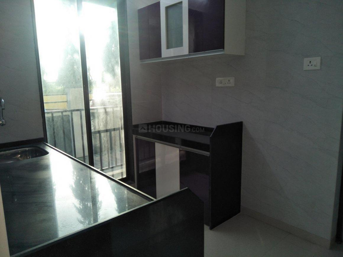 Kitchen Image of 665 Sq.ft 2 BHK Apartment for rent in Vasai West for 11500